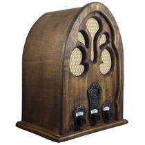 Rádio Antigo Capelinha G - Artesanal - Vintage - Retrô