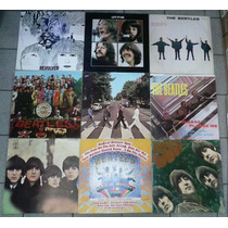 Lote 22 Discos De Vinil Lp Beatles 31x31 + Box Raridade