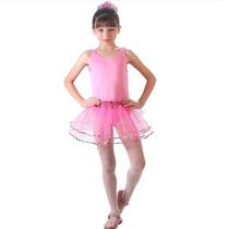 Fantasia Infantil Bailarina Rosa Basica G Sulamericana