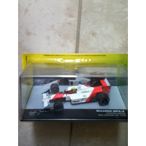 Carrinho Formula1-lendas Brasileiras Mclaren Mp4/4 A. Senna
