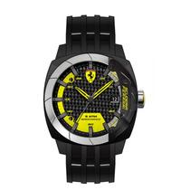 Relógio Scuderia Ferrari Masculino Silicone Preto