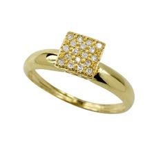 Anel Chuveiro Em Ouro 18k Com Diamantes - Cwb Joias