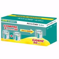 Tiras Para Medir Glicemia Accu-chek Active Leve 150 Pague100