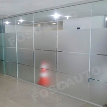 Adesivo Jateado Box Janelas Portas Vidros Blindex - 2m X 1m