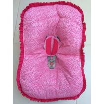 Melhor Preço! Capa Para Bebê Conforto Feminina - Oncinha
