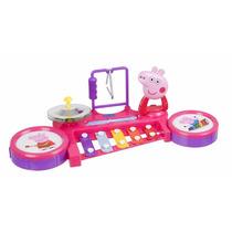 Peppa Pig Band Station Brinquedo Para Crianças Acima 03 Anos
