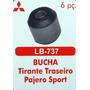Bucha Tirante Traseiro Pajero Sport 6 Peças