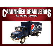 Miniatura Caminhões Brasileiros O Temp Mb L1614 Pepsi Ed. 25
