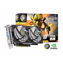 Placa De Video Point Of View Geforce Gt 9800 1gb Ddr3 256bit