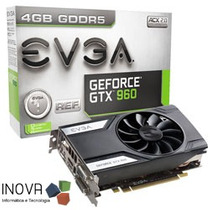 Placa De Vídeo Evga Geforce Gtx960 2gb Ddr5 128 Bits Pci-e