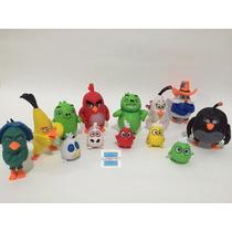 Angry Birds Movie Kit Com 13 Bonecos Coleção Do Filme
