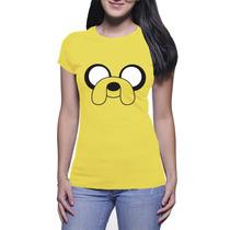 Camisa Feminina Hora Da Aventura - Baby Look - Amarelo