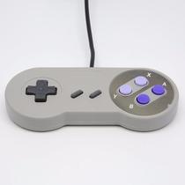 Controle Super Nintendo Snes Usb Joystick : Pc , Mac E Linux