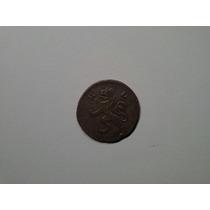 Moeda Alemanha Hesse Darmstadt 3 Kreuzer 1804 Prata