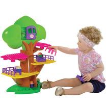Brinquedo Casa Na Árvore Musical Com Elevador Mk278 - Dismat