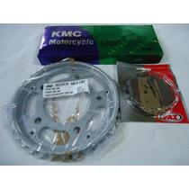 Kit Relacao Cb 450 (coroa E Piao Vaz/corrente Kmc