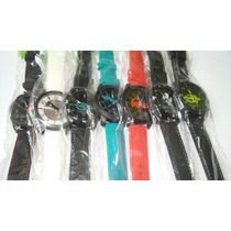 Kit Relógio Masculino Silicone Lote10+caixa Atacado/revenda