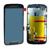 Display Frontal Touch Lcd Moto G2 Xt1068 Xt1069