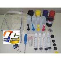 Bulk Ink Hp 5525 Hp 6830 Hp 6230 +2 Litros Sendo 500ml P/cor