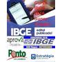 Concurso Ibge 2016 Pós Edital Aprova + Estratégia + Ponto