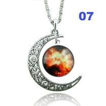 Colar Místico Prata - Lua 7