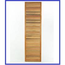 Painel De Madeira Para Jardim Vertical Ou Tv - 1,80 X 50 Cm