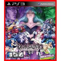 Colecao Darkstalkers Resurrection Ps3 Psn 2 Jogos Classicos