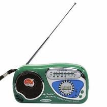 Radio Relogio De Bolso Am Fm Tv Portátil Retro Vintage !!