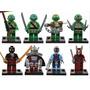 Tartarugas Ninjas Compatível Ao Lego ~4,5cm 8pçs/lote