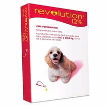 Anti Pulgas Revolution Para Cães De 10,1 Á 20 Kgs