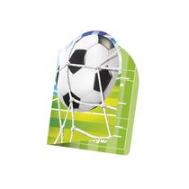 Convite De Festa De Aniversário Bola De Futebol Neutro 40uni