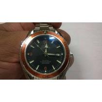 Relógio Seamaster Laranja Automático - Pronta Entrega