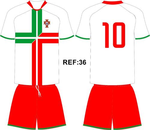 Jogo 20 Camisas 20 Calções Personalizado Futebol Dry Sport - R  900 ... 92365426e65cf
