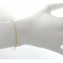 Pulseira Feminina Elos Cartier 18,5 Cm Ouro 18k 750