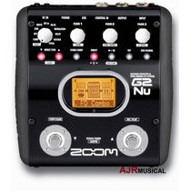 G2nu Pedaleira Zoom Multi-efeitos P/ Guitarra Usb G2-nu / G2