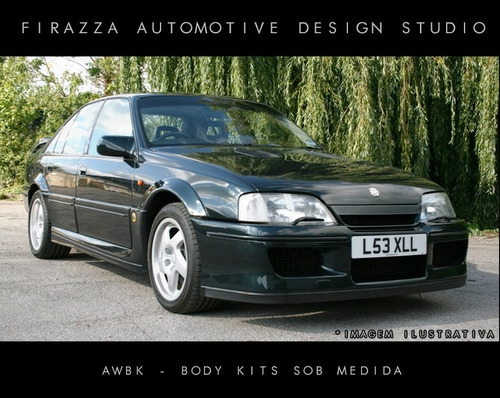 8b864b07641 Body Kit Lotus Carlton - P  Chevrolet Omega   Suprema - R  14799 en ...