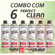 6 Un Do Perfect Clean Koube Motores Álcool/gasolina/gnv/flex