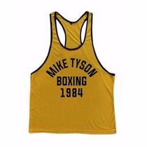 Camiseta Regata Mike Tyson Retro Academia Treino Fitness