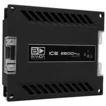 Amplificador Digital 1 Canal Banda Ice 2500w Rms Em 1 Ohms