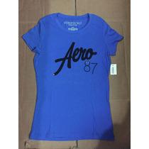 Camiseta Aeropostale Feminina Original Importada Usa