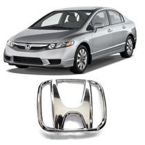 Emblema Grade Diant. Honda New Civic Fit 2009 2010 2011