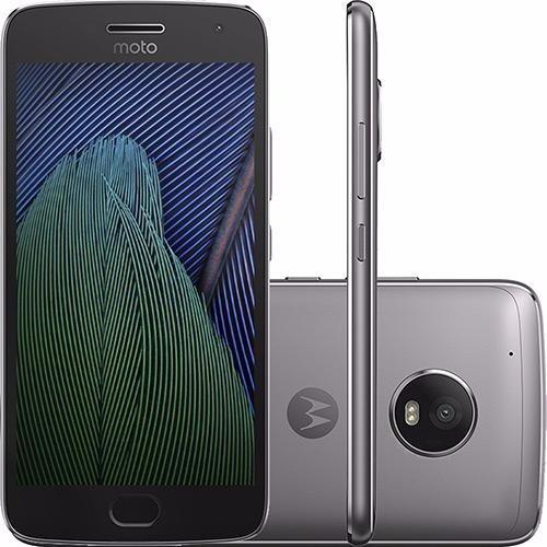 Celular Moto G5 Plus Dual Chip Android 7.0 32gb 4g Cinza