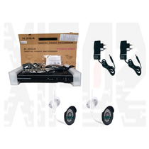 Kit Cftv Nvr 4 Canais + 2 Câmeras Ip 1.0mp Infra Wi-fi 30mts