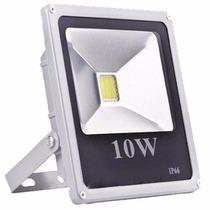 Refletor Led Holofote Branco Frio 10w Bivolt Prova D