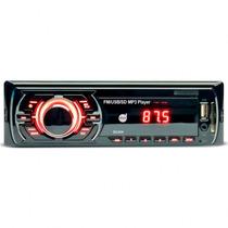 Auto Radio Mp3 Player Dazz Dz-52240 C/ Conexão Usb Sd Aux Fm