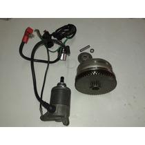 Kit Partida Cg150 Ks Fan Job Cargo Pedal P/ Elétrica Es Esd