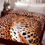 Cobertor Casal Jolitex Kyor Leopardo ``frete Grátis``