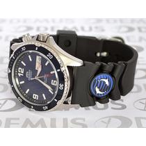 Relógio Orient Aut. Mako Fem65005dw Mergulho Garantia E Nf