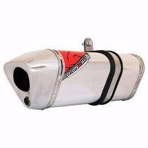 Escape Ponteira Coyote Alumínio 2 Way Lander Xtz 250 Polido