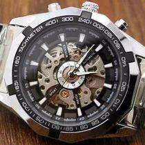 Relógio Importado Winner Skeleton Automatico -100% Original